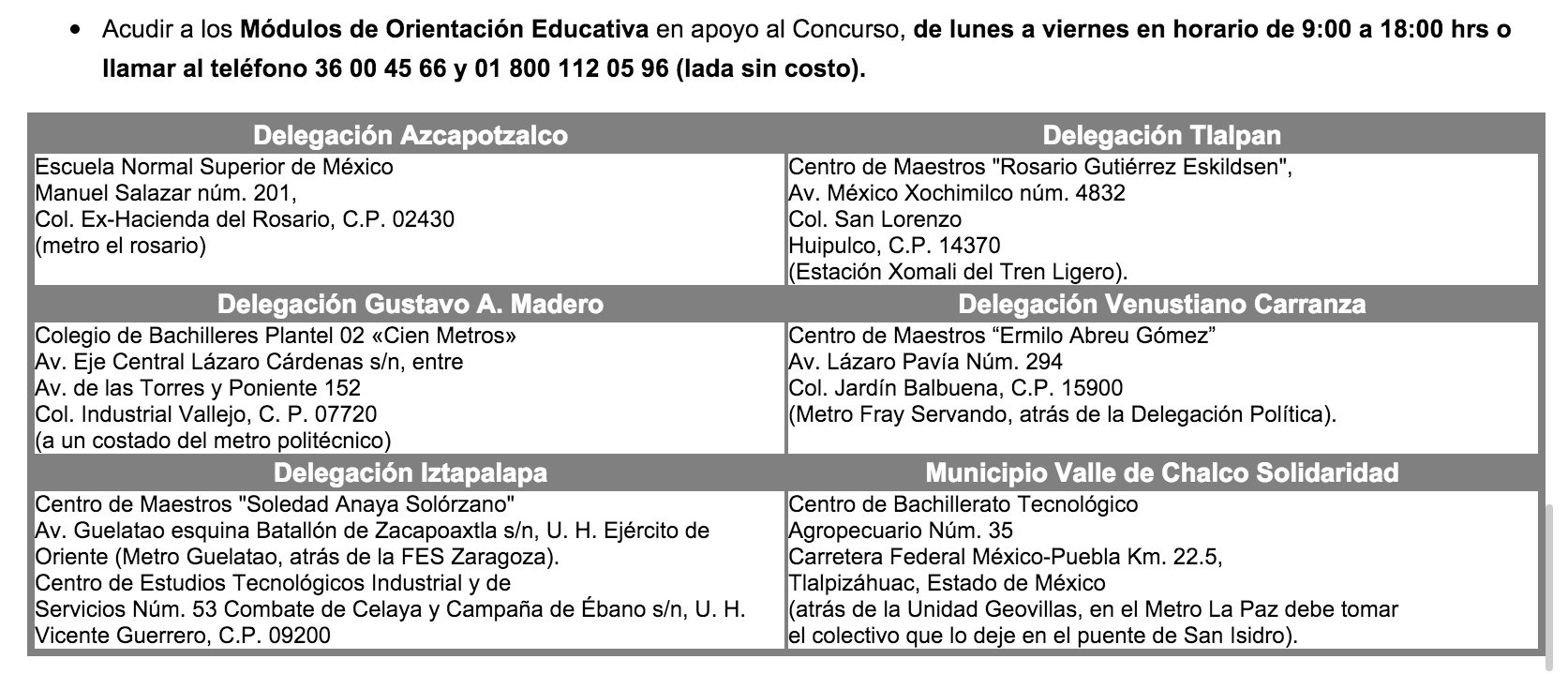 Convocatoria ingreso 2016 ingreso a bachillerato comipems for Sep convocatoria plazas 2016